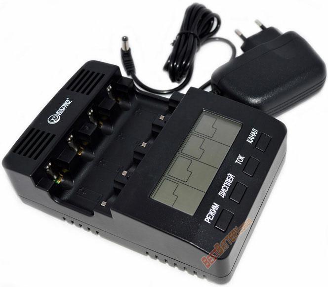 Extradigital BM210 – интеллектуальная зарядная станция для пальчиковых и минипальчиковых аккумуляторов (АА/ААА)