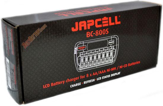 Особенности зарядного устройства Japcell BC 800