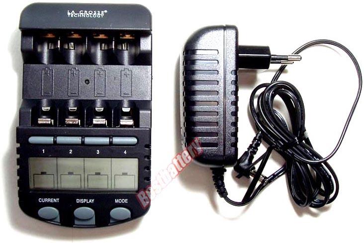 la crosse bc 700 - интеллектуальное зарядное устройство для АА, ААА аккумуляторов