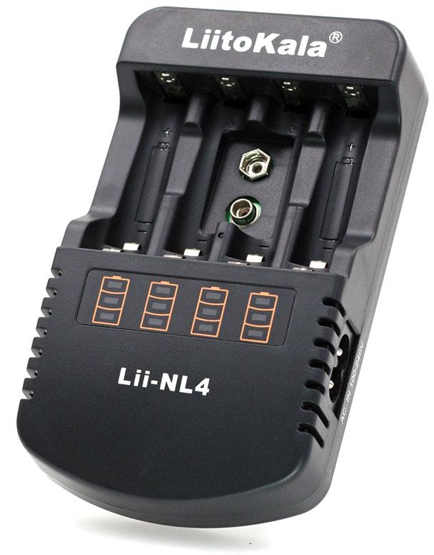 Зарядное устройство Liitokala Lii-NL4.