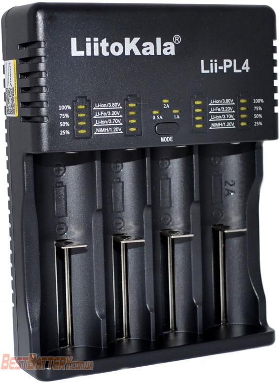 LiitoKala Lii-PL4 - универсальное зарядное устройство для Ni-Mh, Ni-Cd, Li-Ion и LiFePO4 аккумуляторов