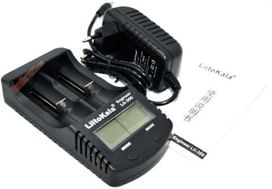 LiitoKala Lii-300  универсальное зарядное устройство.