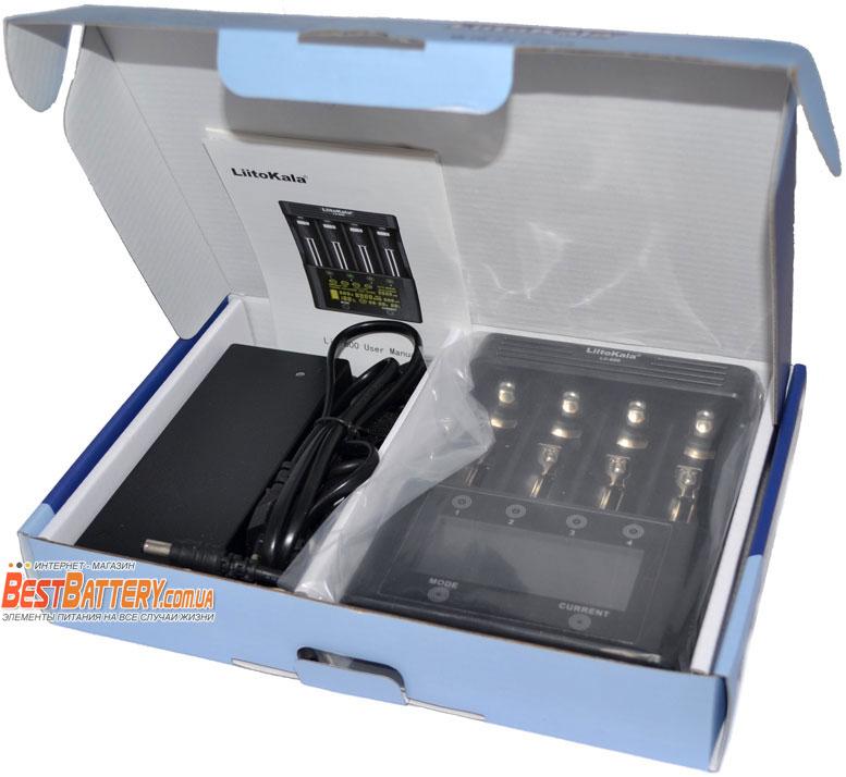 LiitoKala Lii-600 - универсальное БЫСТРОЕ зарядное устройство на 4 канала.