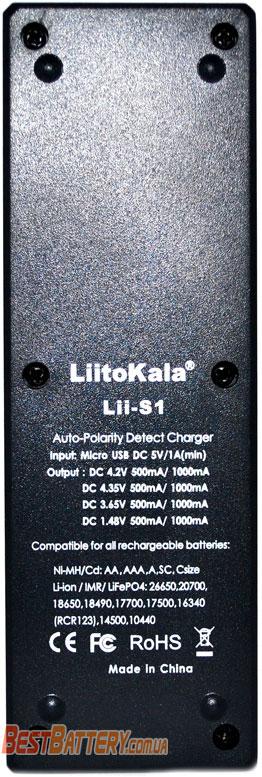 Техническая характеристика LiitoKala Lii S1