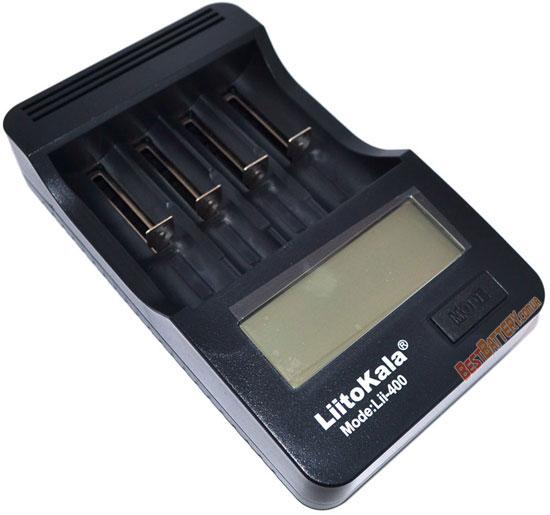 Особенности зарядного устройства LiitoKala Lii 400.