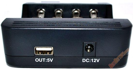 Зарядное устройство LiitoKala Lii 400 USB выход.