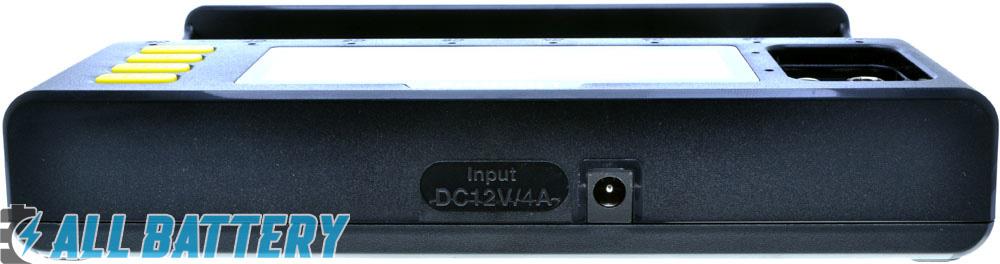 Зарядное устройство Liitokala Lii S8 - гнездо подключения блока питания.