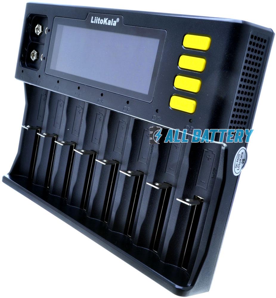 LiitoKala Lii S8 многоканальное зарядное устройство.