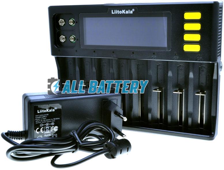 LiitoKala Lii-S8 - универсальное зарядное для Ni-Mh, Ni-Cd, Li-Ion и LiFePO4 аккумуляторов на 8 каналов.