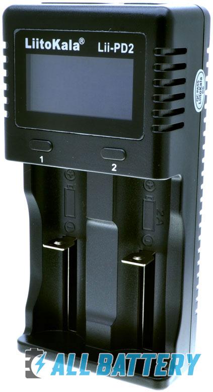 LiitoKala Lii PD2 - универсальное зарядное устройство для Ni-Mh, Ni-Cd, Li-Ion и LiFePO4.