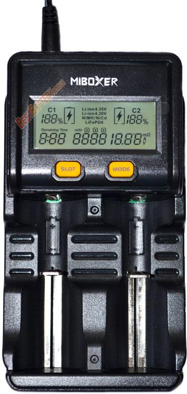MiBoxer C2 4000 индикация на экране.