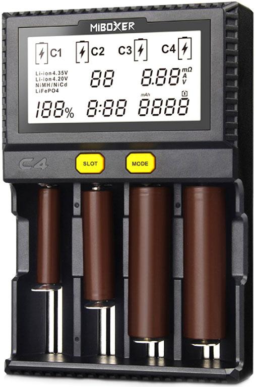 Miboxer C4 v3 New обновленная версия универсального зарядного устройства.