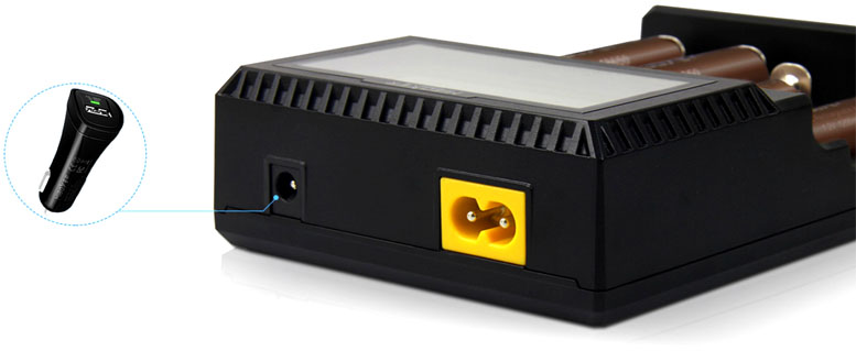 Питание от автомобильного адаптера в MiBoxer C4 v3 New.