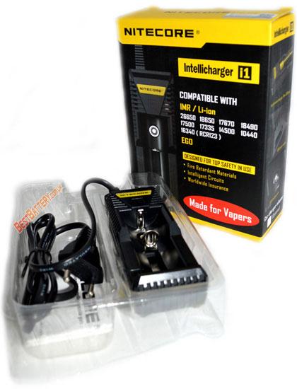 Комплект поставки Nitecore Intellicharger i1: