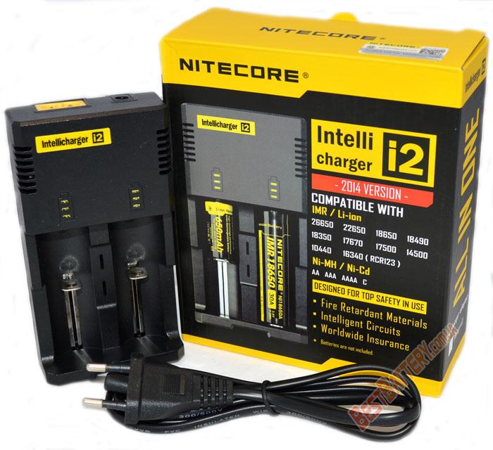Nitecore i2 v2014 универсальное зарядное устройство