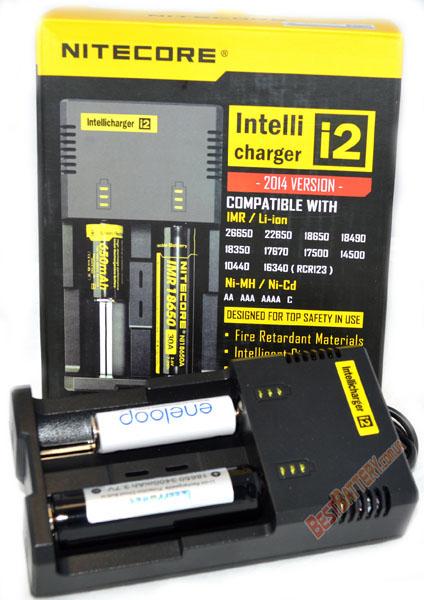 Nitecore Intellicharger i2 v2014 новое поколение зарядных устройств от Nitecore
