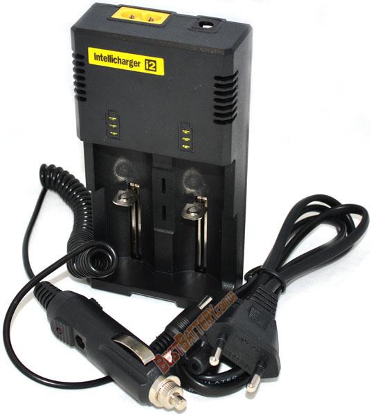 Nitecore Intellicharger i2 v2014 автоадаптер в комплекте