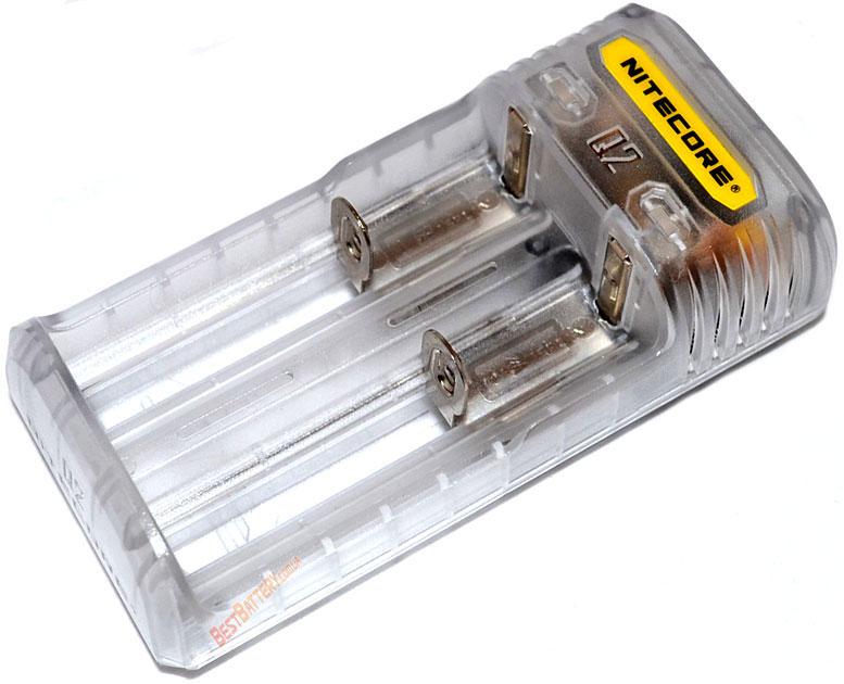 Техническая характеристика Nitecore Q2 charger Lemonade (серого цвета).
