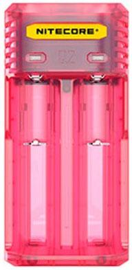 Nitecore Q2 Pinky Peach - универсальное зарядное устройство для Li-ion и IMR аккумуляторов.