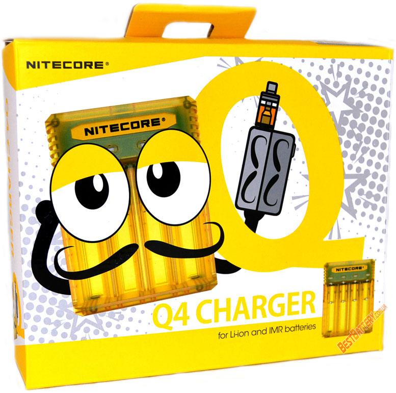 Техническая характеристика Nitecore Q4 charger