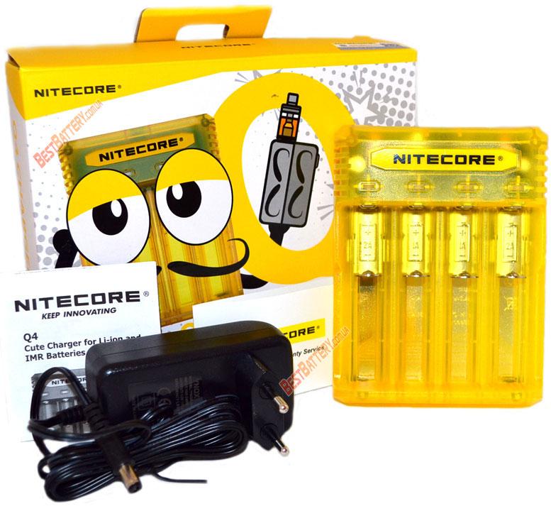 Комплект поставки Nitecore Q4