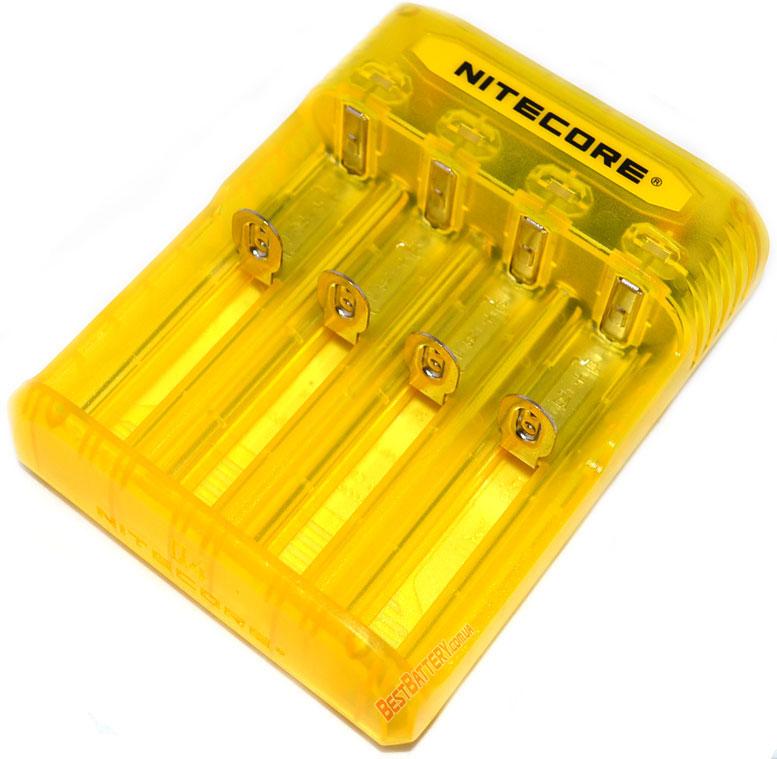 Особенности зарядного устройства Nitecore Q4 yellow