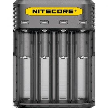 Зарядное устройство Nitecore Q4 черного цвета