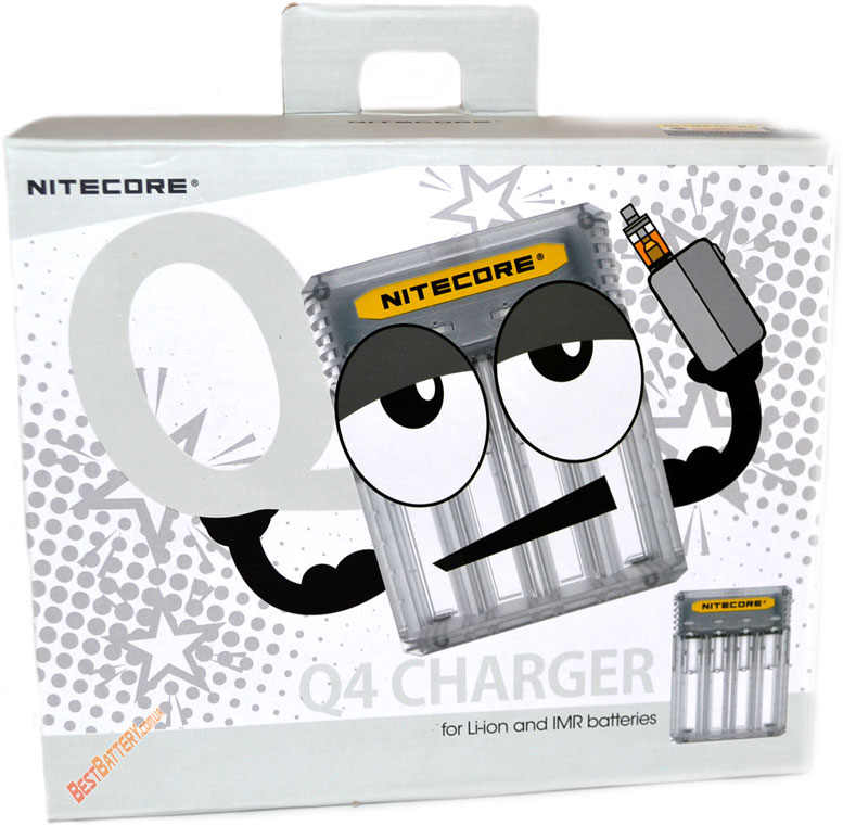Особенности зарядного устройства Nitecore Q4 white