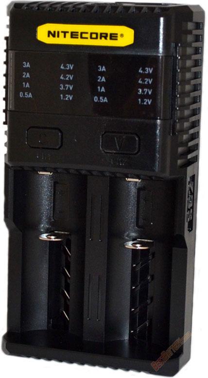 Зарядное устройство Nitecore SC2.