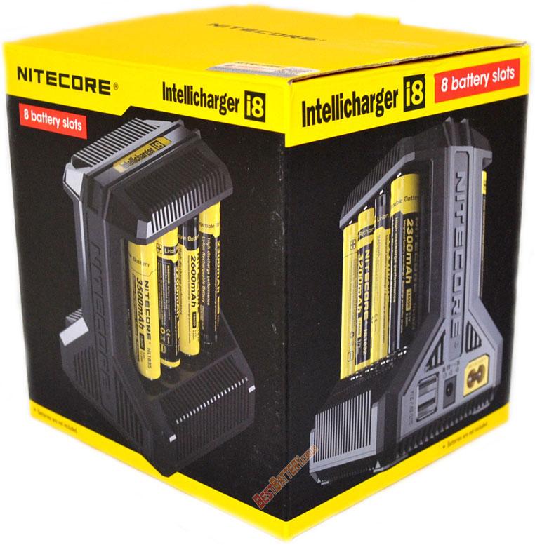 Комплект поставки Nitecore i8
