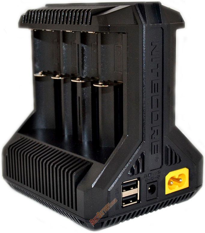 Техническая характеристика Nitecore Intellicharger i8