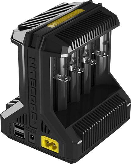Nitecore i8 - универсальное зарядное устройство для Ni-Mh/Ni-Cd/Li-ion/IMR аккумуляторов на 8 каналов.