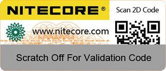 Код проверки Nitecore I8