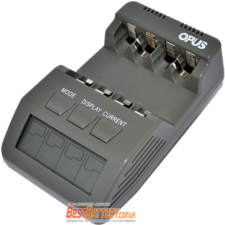 Opus BT C700 v2.2 - интеллектуальное зарядное устройство для АА и ААА аккумуляторов.