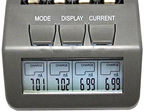 Зарядное устройство Opus BT-C700 информационный дисплей с подсветкой.