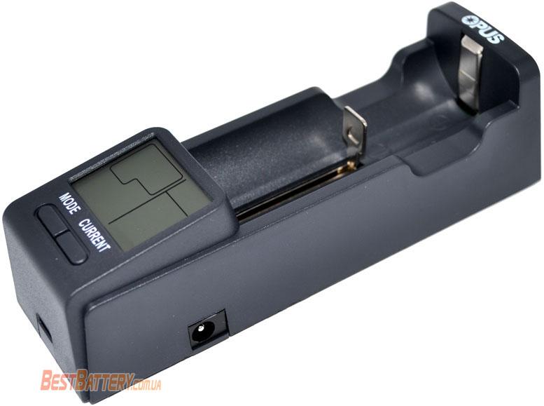 Opus BT-C100 - универсальное интеллектуальное зарядное устройство для Li-ion, Ni-Mh/Ni-Cd и LiFePO4 аккумуляторов.