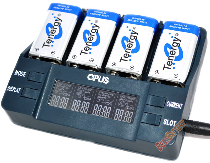 Информация, отображаемая на дисплее Opus BT-C900: