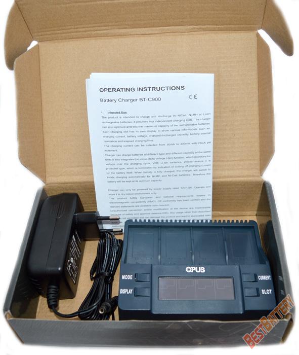 Комплект поставки Opus BT-C900: