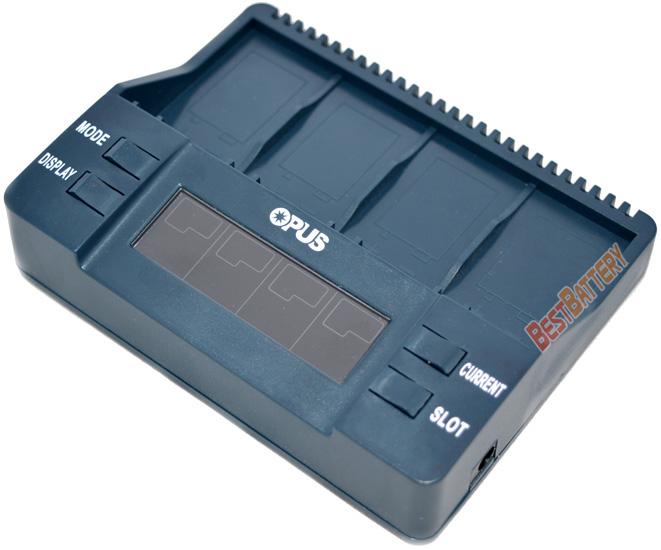 Opus BT-C900 - интеллектуальное зарядное устройство для аккумуляторов Крона.