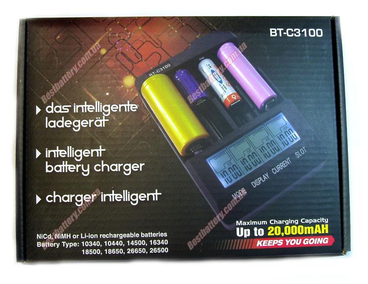 Зарядное устройство Opus BT-C3100 Intelligent charger