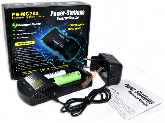 Комплект поставки Power Stations PS-MC204