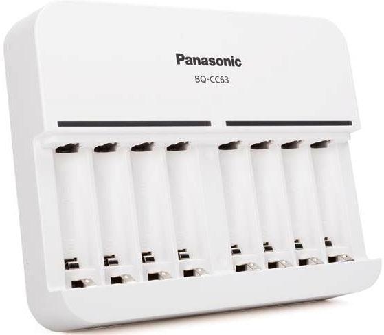 Panasonic Eneloop BQ-CC63 - зарядное устройство на 8 каналов для АА/ААА аккумуляторов.