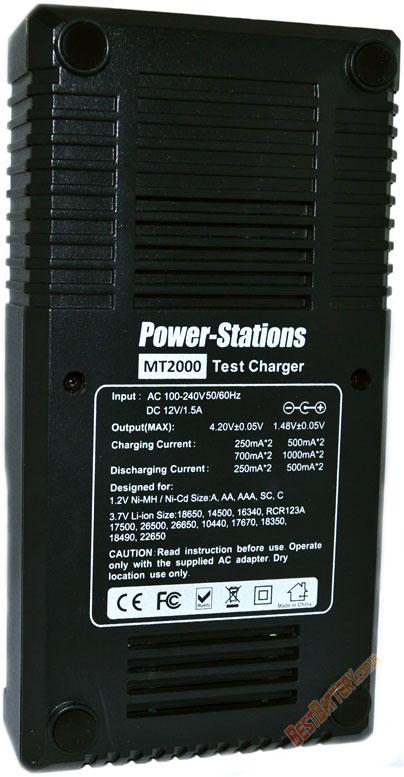 Техническая характеристика Power Stations MT2000