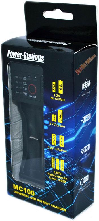 Power Stations MC100 зарядное устройство.