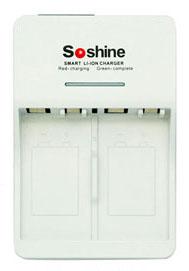 Универсальное зарядное устройство для крон Soshine SC-V1