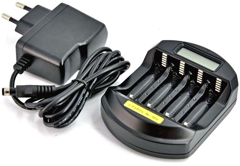 Soshine SC-C5 - зарядное устройство для АА / ААА / 14500 аккумуляторов.