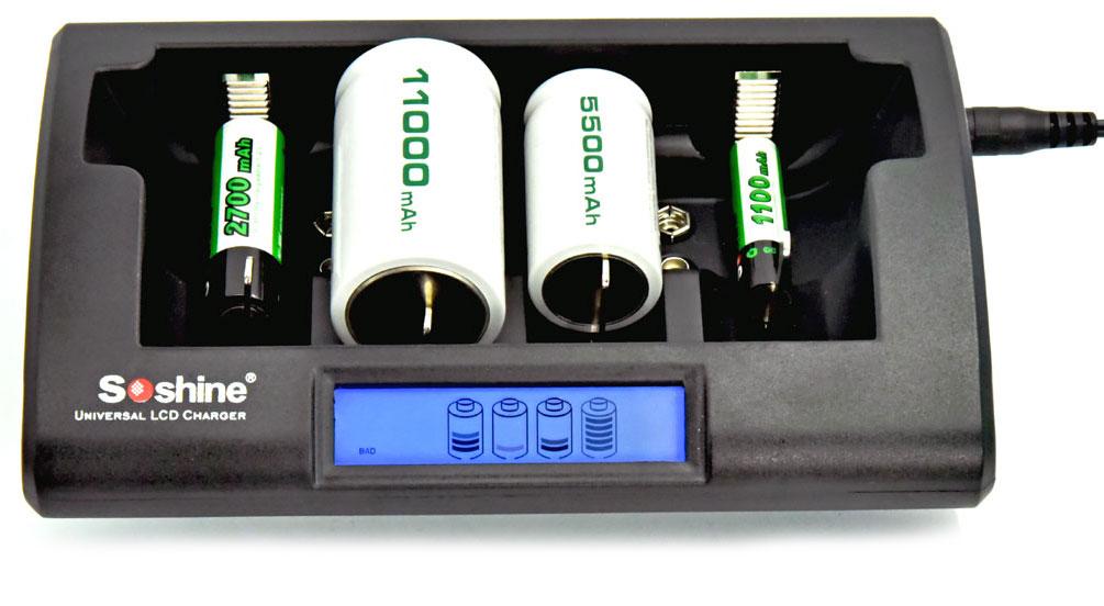 Soshine CD1 - универсальное зарядное устройство