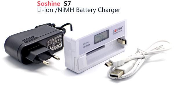 Soshine SC-S7 - универсальное зарядное устройство