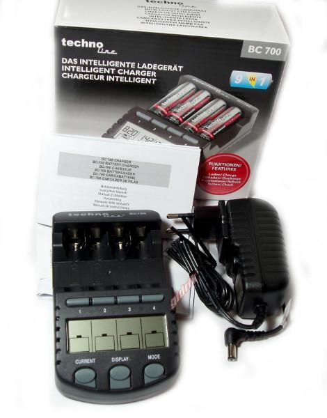 Technoline BC 700 зарядное устройство для АА и ААА аккумуляторов