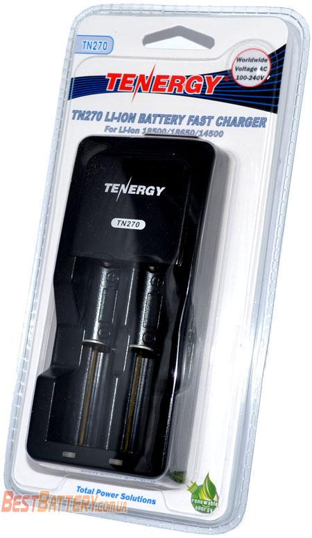 Комплект поставки зарядного устройства Tenergy TN270.